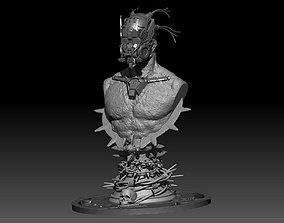 3D print model Cybernetic Warrior
