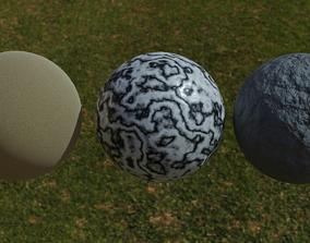 3 Free Materials 3D asset