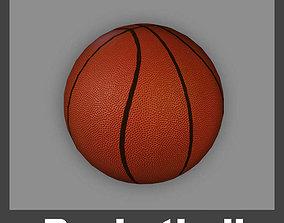 3D model realtime Basketball Ball