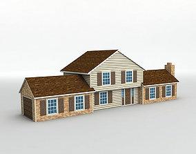 House 4 3D model VR / AR ready