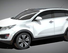 VR / AR ready KIA Sportage SUV 3D model
