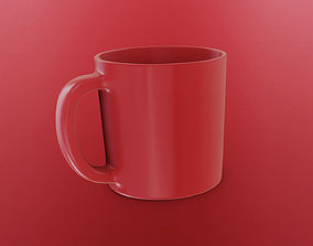 Model Cup calyx rouse for subdivision quads 3D asset