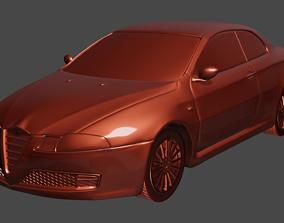 Alfa Romeo GT 3d print model