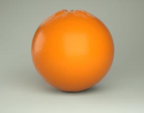 fruit 3D PBR Orange