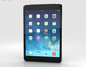 Apple iPad Mini 2 Cellular Space Grey 3D