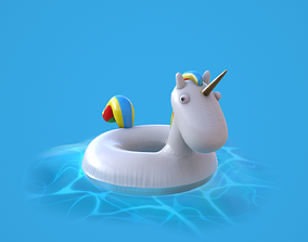 Inflatable Unicorn 3D model