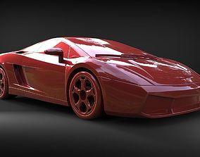 Car model 2005 3d Print superleggera