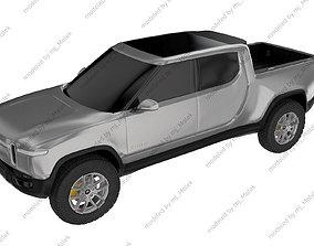 truck Rivian R1T 3D