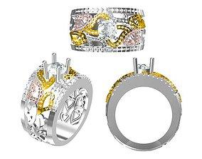 3D print model Amazing men ring jcd men ring