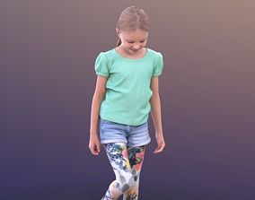 Lilly 10253 - Playing child 3D model