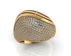3D printable model ring stone 156