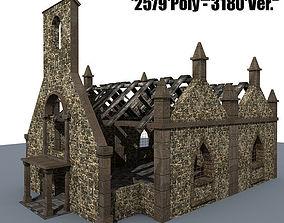 Ruined House 3b 3D model
