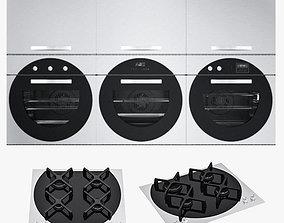 3D asset Barazza appliances cook