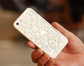 Flora Iphone 5 Case 3D print model