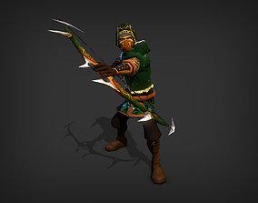 3D asset Assassin Model