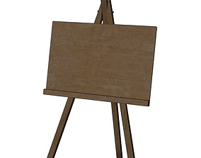 3D model Easel studio