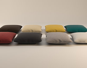 Solid Square Pillow 3D