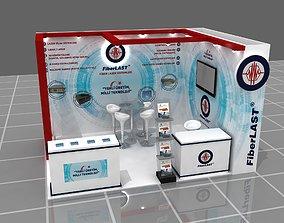 3D model Modular Expo Stand 006
