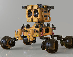 3D model wall-E the Movie concept character