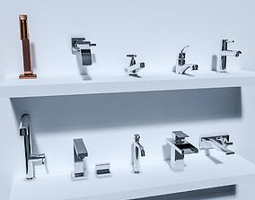 3D model Faucet pack