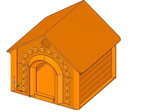 doghouse cathouse housekeeper for real 3D printing