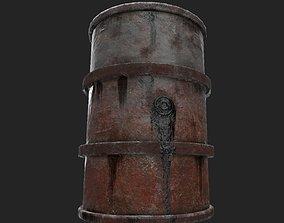 Fuel barrel - Low poly - UE4 2048k - Low poly 3D asset