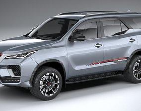 Toyota Fortuner TRD 2021 3D
