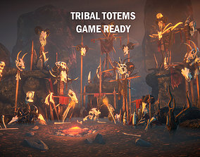 3D model Tribal totems