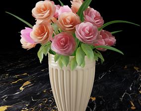 vase 3D Vase with flowers