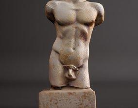 Greek Torso 3D print model