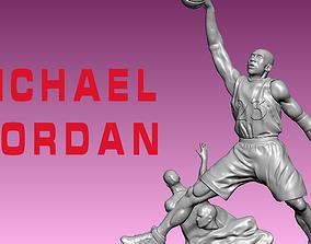 Michael Jordan - American professional 3D print model 3