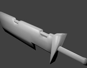 heroes 3D model Sword