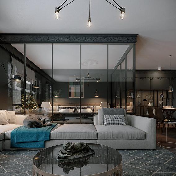 Minotti Livingroom
