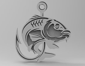 Fish design 3D printable model
