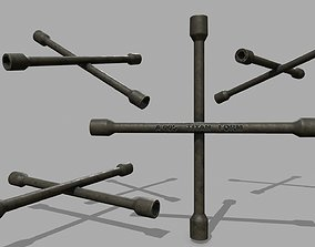 Lug Wrench 3D asset realtime