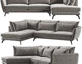 3D model Leone Corner sofa Kaza do sofa