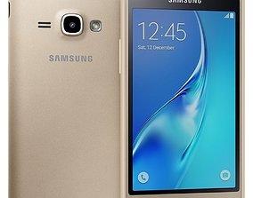 Samsung Galaxy J1 2016 Gold 3D model