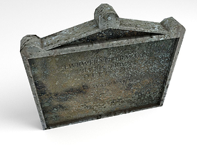 3D model Headstone 11