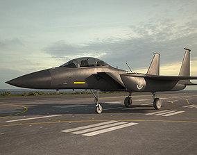 3D model McDonnell Douglas F-15E Strike Eagle