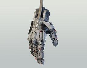 3D hand mechanical 03