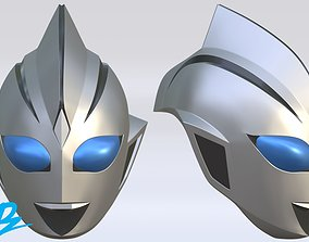 Mask Ultraman Evil Tiga 3D print model