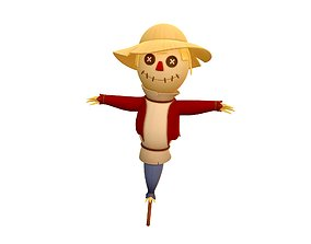 Scarecrow 3D model