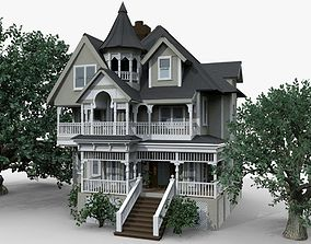 3D Victorian House second