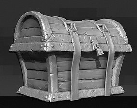 other 3D Treasure Chest - High Poly