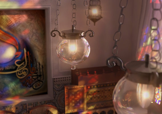 Islamic livingroom
