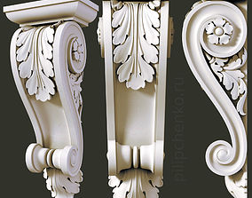 3D printable model Architectural bracket