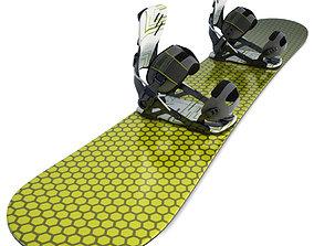 3D Snowboard Equipment