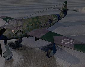 3D Messerschmitt Me-509