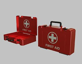 3D asset First Aid Medical Kit - Medkit - Safety and 1