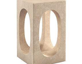 3D Carlo side tables by Matthew Hilton